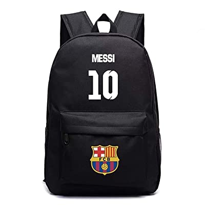 Luminous Backpack-Barcelona Messi Fans Backpack-Noctilcent Backpack Bag for Outdoor: Clothing