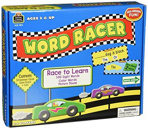 Teacher Created Resources Word Racer Game (7811) Sentence Maker