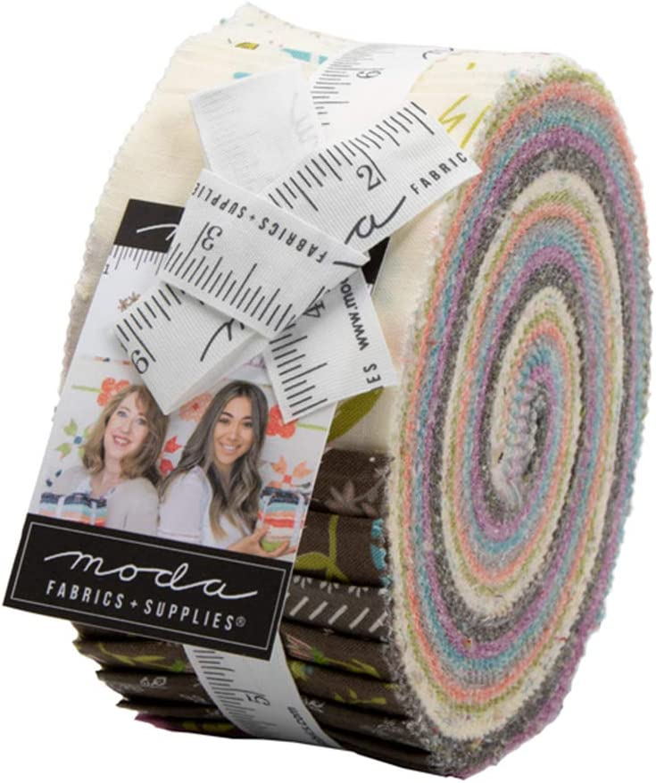 Sherri and Chelsi Balboa Jelly Roll 40 2.5-inch Strips Moda Fabrics 37590JR