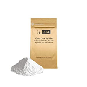 PURE Guar Gum Powder (10 oz) Food Safe, Non-GMO & Gluten-Free, Thickening Agent