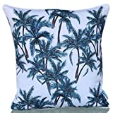 Sunburst Outdoor Living 20'' x 20'' (With Piping) HOLIDAY Decorative Throw Pillow Cushion Cover for Couch, Bed, Sofa or Patio - Only Case, No Insert