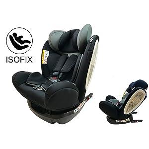 Star Ibaby Isofix Travel - Silla de coche, grupo 0/1/2/3 (0-36 kg)