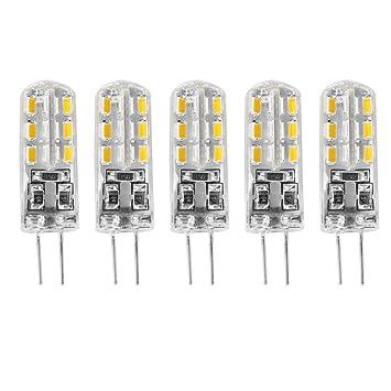 Bombillas LED G4, Bombillas con Base Bi-pin, Bombillas de Bajo Consume DC12V