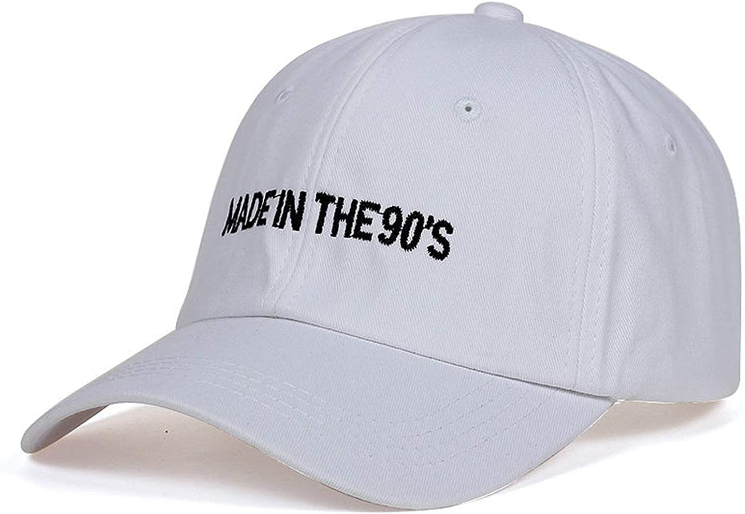 HYID New Men Women MADEIN The 90s Embroidery Dad Hat Baseball Cap Polo Style Unconstructed Fashion Unisex Dad Hats