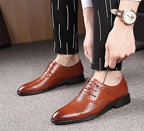 Scarpe eleganti XIE Scarpe Uomo 43 foro Scarpe casual 38 moda da Scarpe estive lavoro con brown Scarpe XrqYqg4Aw