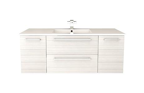 Cutler Kitchen U0026 Bath FV W/CHOCOLATE48 Silhouette 48u0026quot; Wall Hung  Bathroom Vanity,