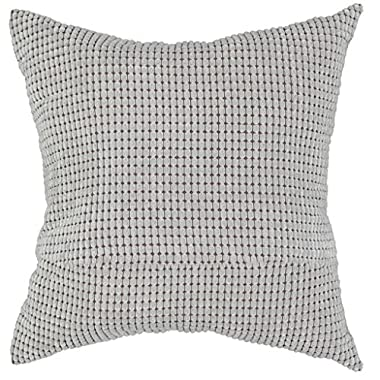 FUNOC Soft Square Decorative Throw Pillow Case Cushion Cover 24 X24