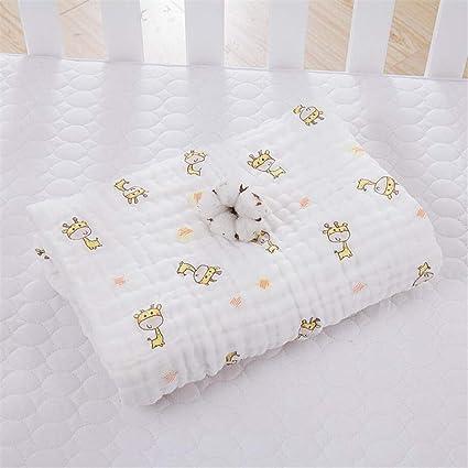 WESEEDOO Manta de Bebe Swaddle Blanket Toallas de Baño Multipropósito Suave Unisex Elástica Muselina Orgánica Toallitas