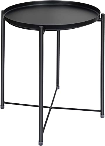 Tray Metal End Table