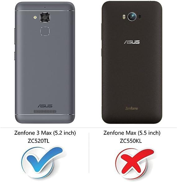 COODIO Funda ASUS Zenfone 3 MAX ZC520TL con Tapa, Funda Movil ...