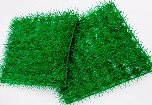 New Artificial Water Aquatic Green Grass Plant Lawn Aquarium Fish Tank Landscape Aquarium Decor Fish Tank Decoration Ornament Artificial Plastic Plant Green