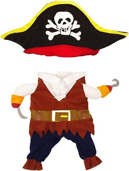 NEW Boys Dress Up By Design Peg Leg Pirate Fancy Dress Up Costume Age 9 10 11