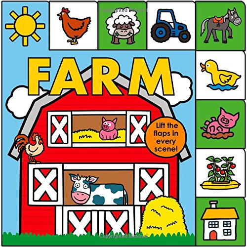 Lift-the-Flap Tab: Farm (Lift-the-Flap Tab Books)