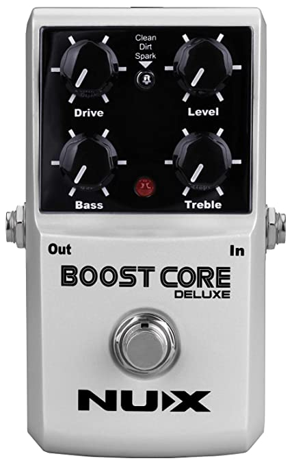 NUX | Boost Core Deluxe Booster Pedal | Guitar FX