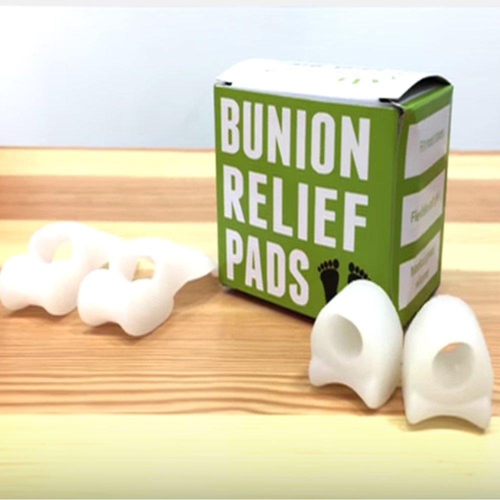 Amazon.com: Separadores para el alivio de juanetes del dedo gordo, incluye 2 cojines correctores y 2 separadores del dedo del pie, los protectores alinean ...