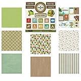 Scrapbook Customs Themed Paper & Stickers Scrapbook Kit, Camping