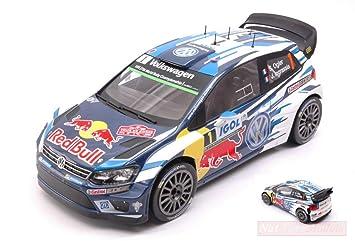 Ixo Model 18RMC018A VW Polo R WRC N.1 Tour DE Corse 2016 OGIER ...