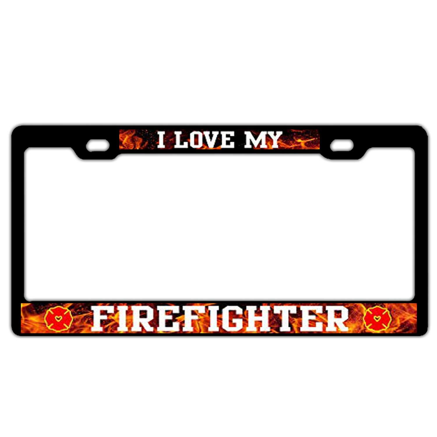101st Airborne Division Veteran Aluminum Metal Custom Car Auto License Plate Frame Holder Funny Humor Standard Size for US Vehicles with Screws GTBAO