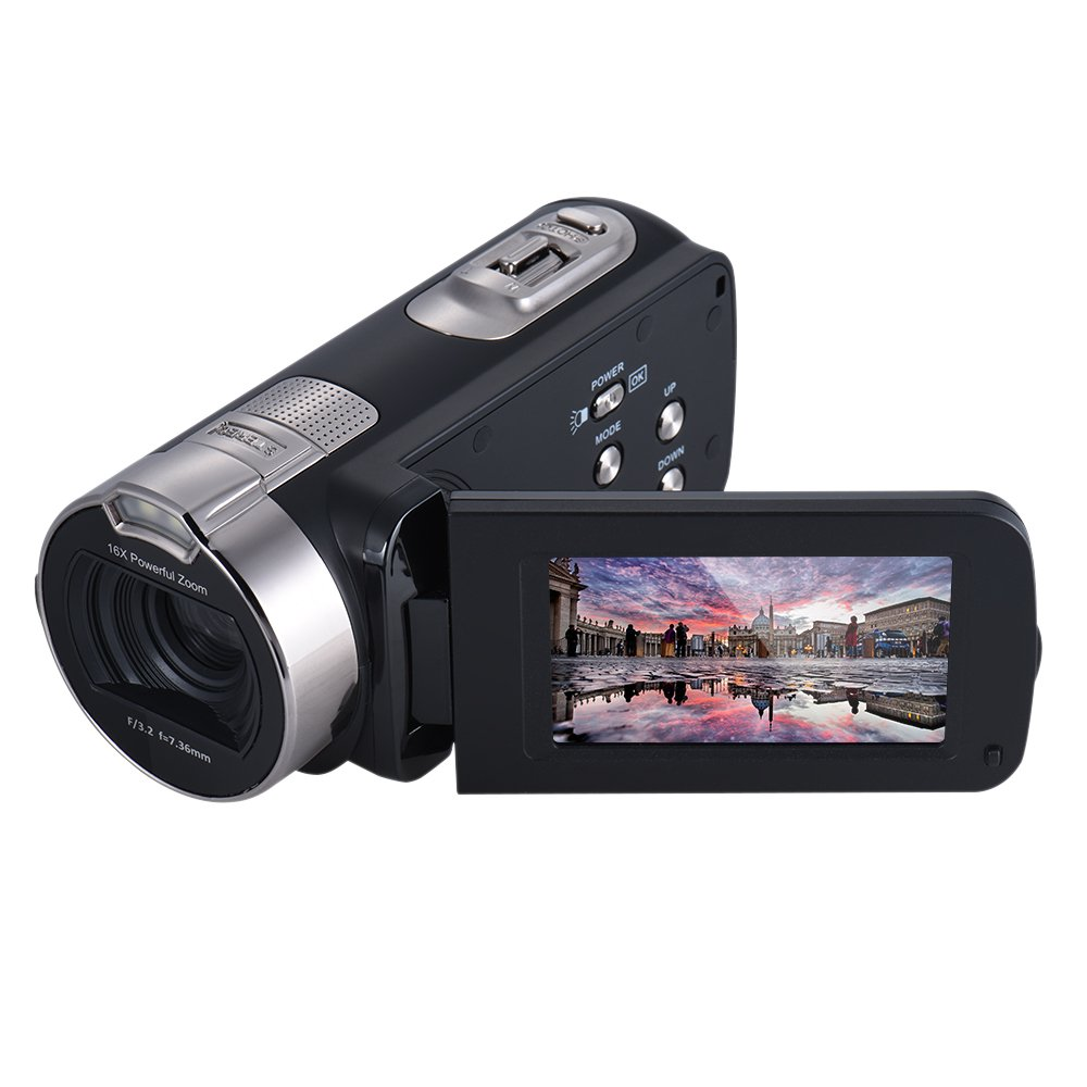 Andoer HDV-312P 20MP Full HD Digital Video Camera with 16×