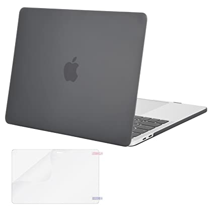 competitive price 5c291 ef308 MOSISO MacBook Pro 15 Case 2018 2017 2016 Release A1990/A1707 with Touch  Bar & Touch ID, Plastic Hard Shell Cover & Screen Protector Compatible  Newest ...