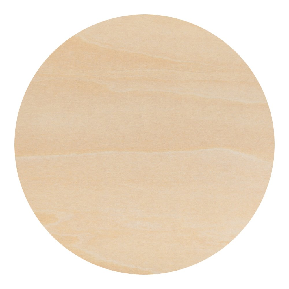 12'' inch Wooden Circle Cutouts - Pack of 3 - By Woodpeckers