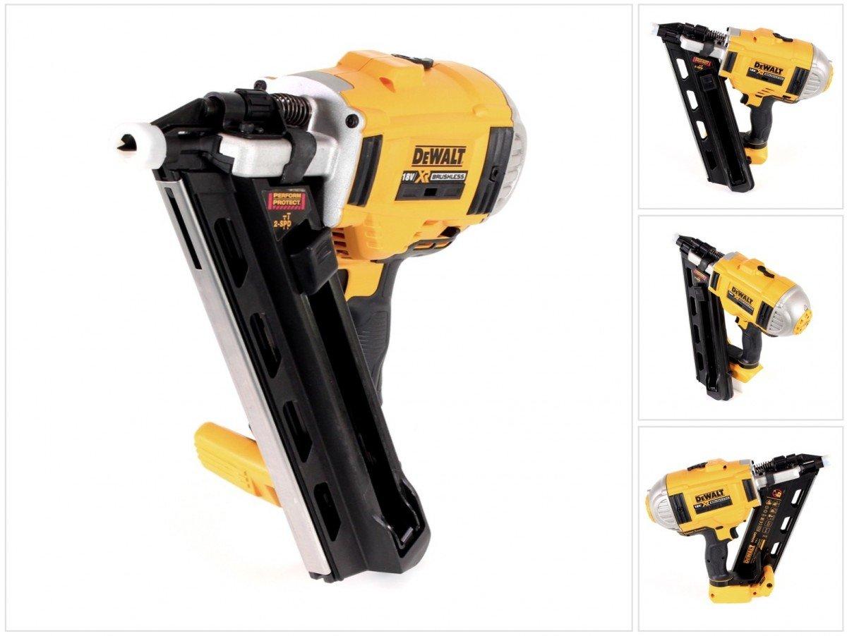Amazon.com: DCN692N Cordless XR 2 Speed Framing Nailer 90mm 18 Volt ...