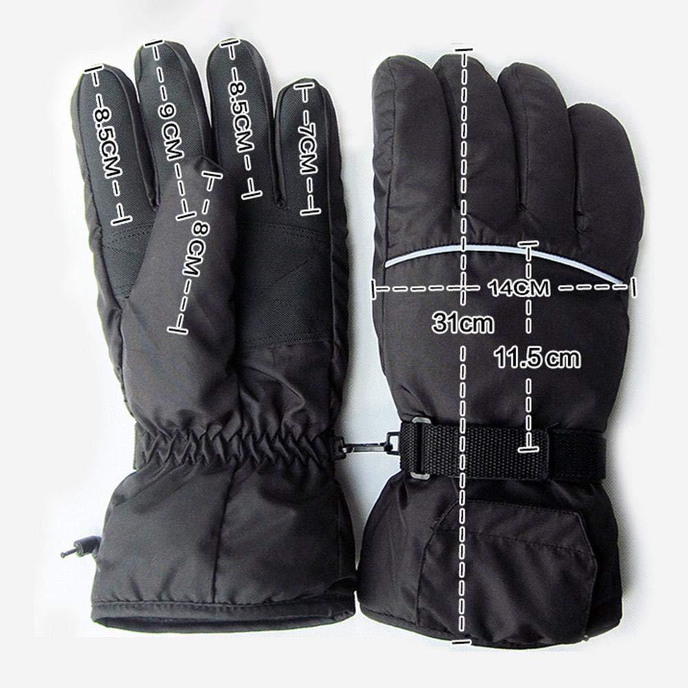 esqu/í recargable impermeable 3,7 V pesca aislado con bater/ía calentador de mano ciclismo para caza AIHOME Guantes calefactables