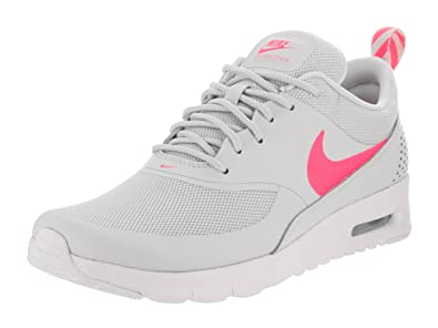 more photos d62ed fdd85 Nike Air Max Thea GS, Chaussures de Running Compétition Fille - Gris - Pure  Platinum