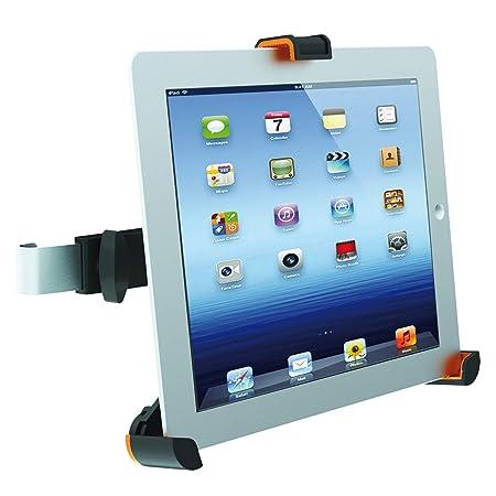 Value KFZ - Soporte para tablet/ebook/tablet-PC (ajustable), negro ...