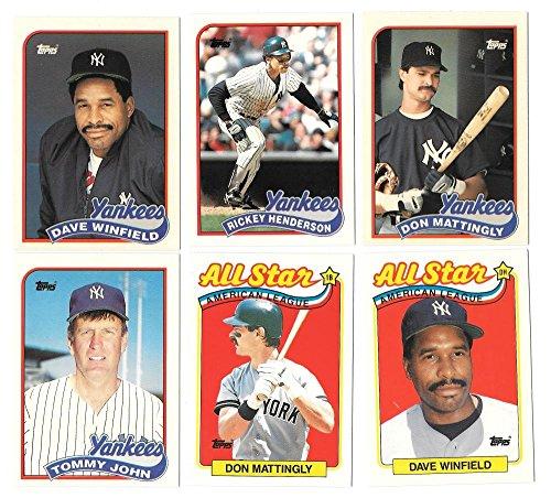 1989-topps-tiffany-new-york-yankees-near-team-set-211