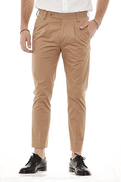 c78a135adea01 ENTRE AMIS pantaloni uomo con una pences e cinturino P188355 1360 ...