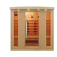 Trade-Line-Partner Infrared Sauna - Corner for 4 People
