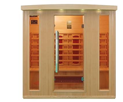 Cabina De Infrarrojoscalor Cabinasauna Esquina Para 4 Persona - Cabina-sauna