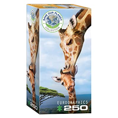 EuroGraphics Giraffes (Save Our Planet) 250-Piece Puzzle: Toys & Games