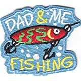 I/'m Hooked On Fishing Patch Iron On or Sew On Hunting Camping