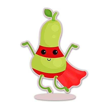 Amazon.com: Ninja Pickle Super Fruit Pear Decal for Your Car ...