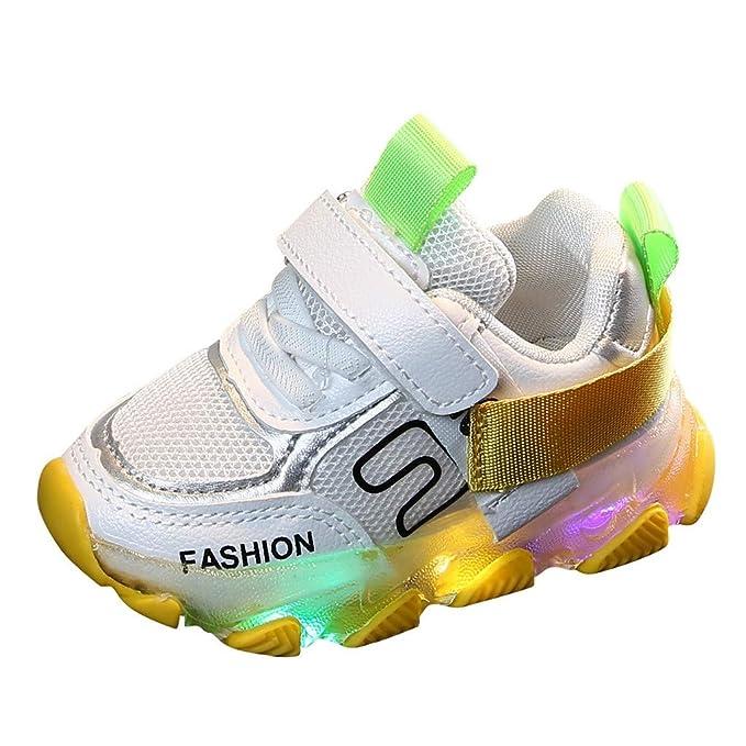 new product 55c70 81cbe Baby Kleinkind Kinder LED Leuchtschuhe Turnschuhe Fashion ...