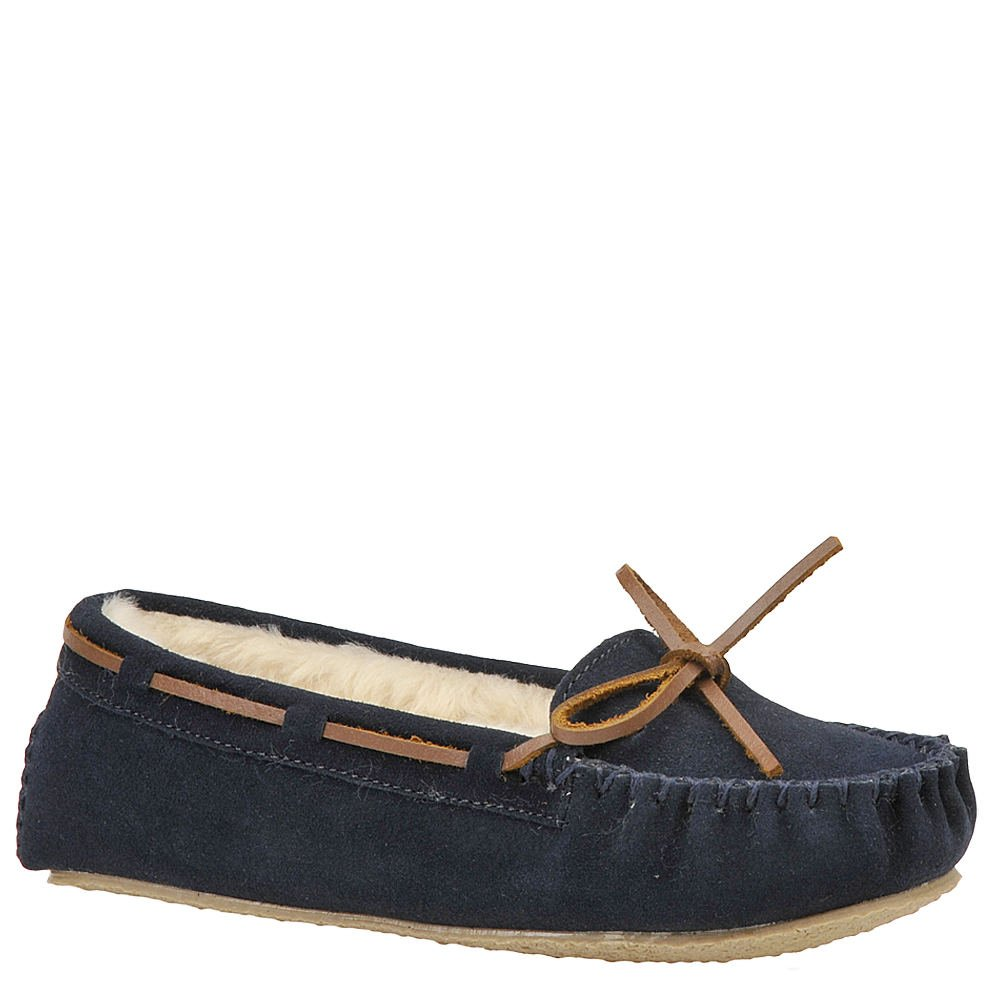 Minnetonka Women's Cally Slipper Dark Navy Suede 11 M