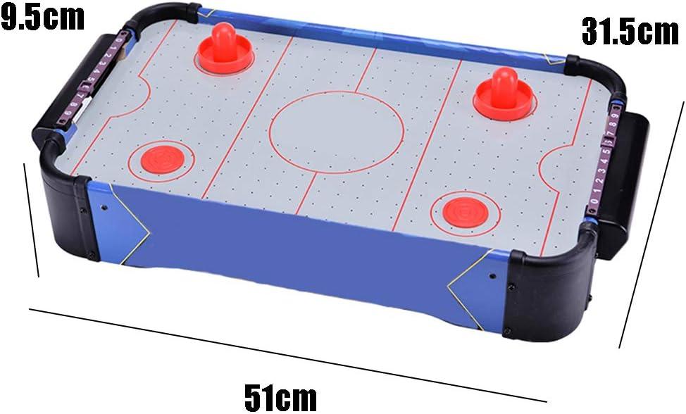 LYXCM Air Hockey Tabletop Game, Table Top Air Hockey Profesional Fácil de Instalar para Juegos interactivos Entre Padres e Hijos: Amazon.es: Hogar