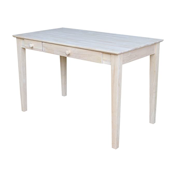 Amazon.com: International Concepts Computer Desk With Flip Down Drawer:  Kitchen U0026 Dining
