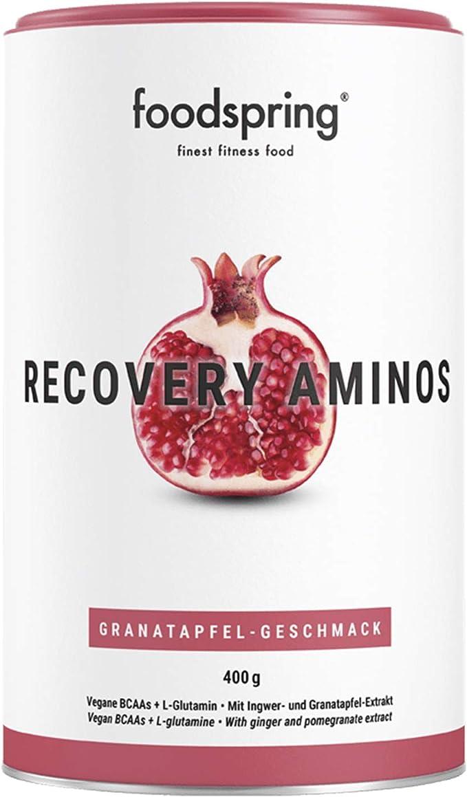 foodspring Recovery Aminos, Granada, La recuperación ...