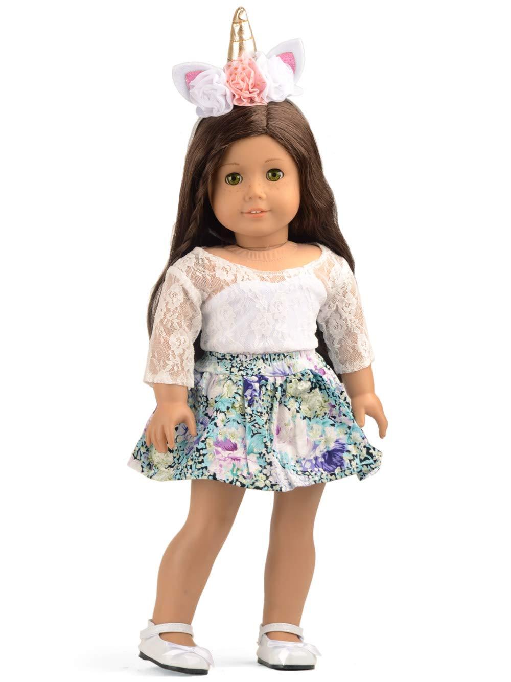 Amazon.com  sweet dolly Doll Unicorn Clothes 49a714e83