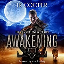 Awakening Audiobook by JK Cooper Narrated by Kate Reading