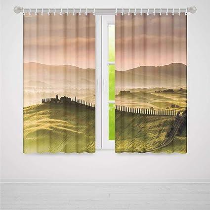 Amazon Com Tuscan Decor Window Curtains Blackout Italian