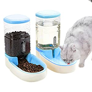 Fairy Tale Automatic Pet Feeder Small&Medium Pets Automatic Food Feeder and Waterer
