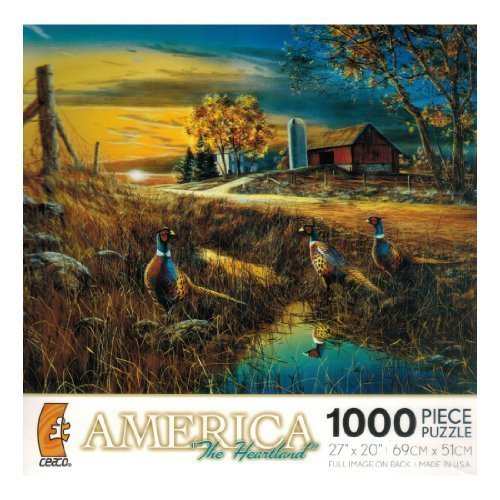 tienda en linea America the Heartland - 'Roadside' - 1000 Pc Pc Pc Puzzle by Jim Hansel by Ceaco  muy popular