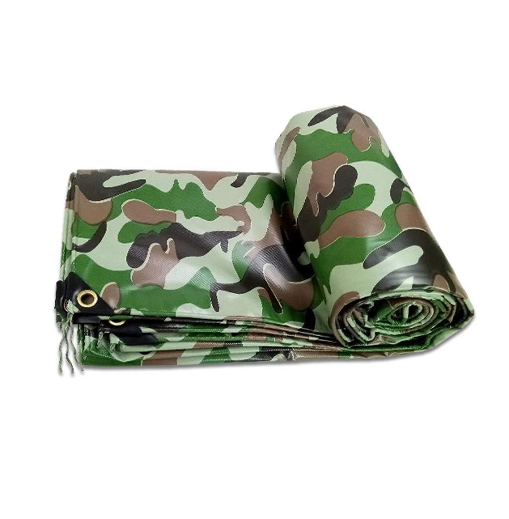 ターポリン 迷彩ターポリン擦り布ポンチョタープジャングルキャンバス防塵保護カバー (サイズ さいず : 5x6M) B07S1GY9G3  5x6M