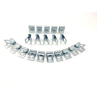 "3/16"" Brake Line Clip (Pack of 20): Automotive"