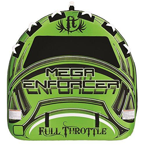 - Full Throttle Enforcer Fully D-Shaped Tube, Green, 80-Inch