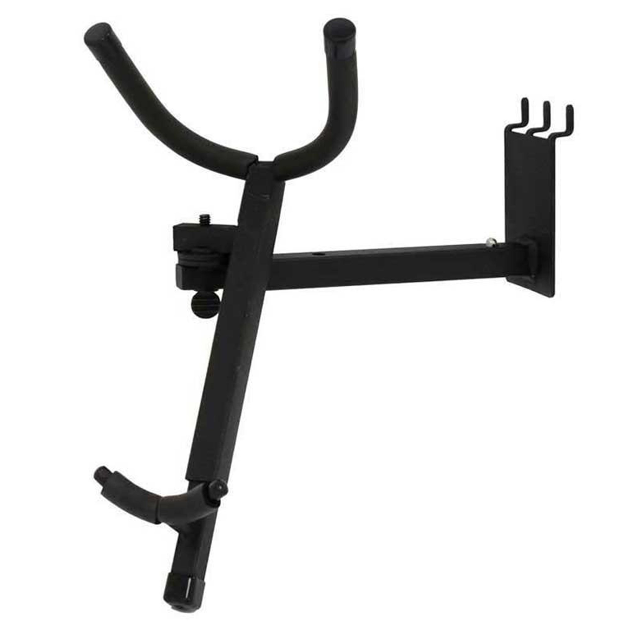 D'Luca Adjustable Alto/Tenor Sax Holder Fits Slatwall And Peg Wall